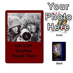 Tfl Iabsm Falklands Deck Uk By Joe Collins   Playing Cards 54 Designs   8v3ffqg6srcf   Www Artscow Com Front - Club3