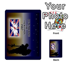 Tfl Iabsm Falklands Deck Uk By Joe Collins   Playing Cards 54 Designs   8v3ffqg6srcf   Www Artscow Com Back
