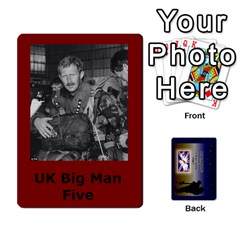Tfl Iabsm Falklands Deck Uk By Joe Collins   Playing Cards 54 Designs   8v3ffqg6srcf   Www Artscow Com Front - Spade9