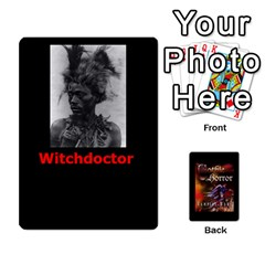 West Wind Gothic Horror Deck Ii By Joe Collins   Playing Cards 54 Designs   6x60nf69t1gy   Www Artscow Com Front - Club8