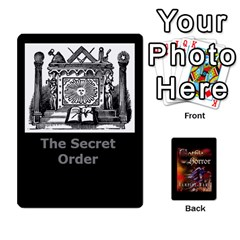 Queen West Wind Gothic Horror Deck I By Joe Collins   Playing Cards 54 Designs   2akwqblhsovu   Www Artscow Com Front - ClubQ