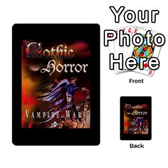 West Wind Gothic Horror Deck I By Joe Collins   Playing Cards 54 Designs   2akwqblhsovu   Www Artscow Com Back