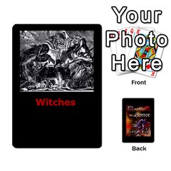 West Wind Gothic Horror Deck I By Joe Collins   Playing Cards 54 Designs   2akwqblhsovu   Www Artscow Com Front - Spade8