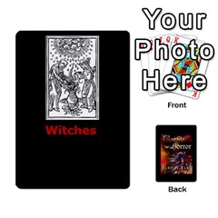 West Wind Gothic Horror Deck I By Joe Collins   Playing Cards 54 Designs   2akwqblhsovu   Www Artscow Com Front - Spade10