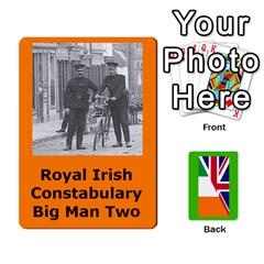 Tfl Mud And Blood Anglo Irish And Irish Civil War Cards By Joe Collins   Playing Cards 54 Designs   Ulks12j4trw1   Www Artscow Com Front - Spade3