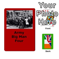 Tfl Mud And Blood Anglo Irish And Irish Civil War Cards By Joe Collins   Playing Cards 54 Designs (rectangle)   Ulks12j4trw1   Www Artscow Com Front - Heart3