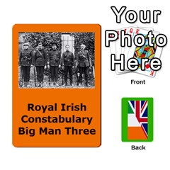 Tfl Mud And Blood Anglo Irish And Irish Civil War Cards By Joe Collins   Playing Cards 54 Designs   Ulks12j4trw1   Www Artscow Com Front - Spade4