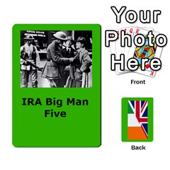 Tfl Mud And Blood Anglo Irish And Irish Civil War Cards By Joe Collins   Playing Cards 54 Designs   Ulks12j4trw1   Www Artscow Com Front - Diamond2