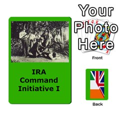 Tfl Mud And Blood Anglo Irish And Irish Civil War Cards By Joe Collins   Playing Cards 54 Designs   Ulks12j4trw1   Www Artscow Com Front - Diamond4