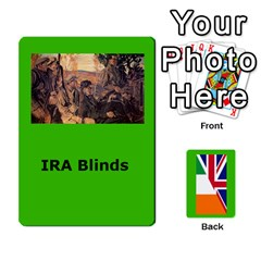 Tfl Mud And Blood Anglo Irish And Irish Civil War Cards By Joe Collins   Playing Cards 54 Designs   Ulks12j4trw1   Www Artscow Com Front - Diamond5