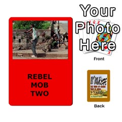 Tfl Bmaso Modern Deck Rebels By Joe Collins   Playing Cards 54 Designs   Mz52jtzx5mdp   Www Artscow Com Front - Spade9