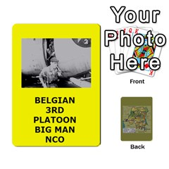 Tfl Bmaso Congo Deck Belgians, Un, And Simbas By Joe Collins   Playing Cards 54 Designs   Aaa8tush7fjc   Www Artscow Com Front - Heart3