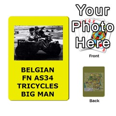 Tfl Bmaso Congo Deck Belgians, Un, And Simbas By Joe Collins   Playing Cards 54 Designs   Aaa8tush7fjc   Www Artscow Com Front - Heart7
