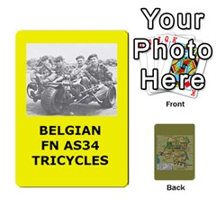 Tfl Bmaso Congo Deck Belgians, Un, And Simbas By Joe Collins   Playing Cards 54 Designs   Aaa8tush7fjc   Www Artscow Com Front - Heart8