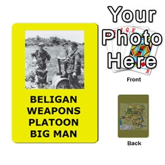 Tfl Bmaso Congo Deck Belgians, Un, And Simbas By Joe Collins   Playing Cards 54 Designs   Aaa8tush7fjc   Www Artscow Com Front - Spade7