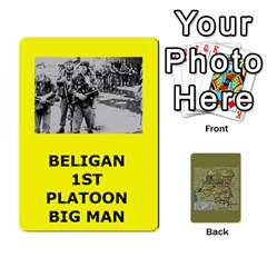 Tfl Bmaso Congo Deck Belgians, Un, And Simbas By Joe Collins   Playing Cards 54 Designs   Aaa8tush7fjc   Www Artscow Com Front - Spade9
