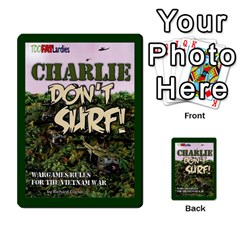 Tfl Charlie Dont Surf Deck 2 By Joe Collins   Playing Cards 54 Designs   Ffuy0m2n51jk   Www Artscow Com Back