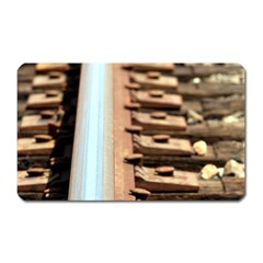 Train Track Magnet (rectangular) by hlehnerer