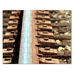 Train Track Jigsaw Puzzle (rectangle) by hlehnerer