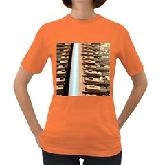 Train Track Womens' T Shirt (colored) by hlehnerer