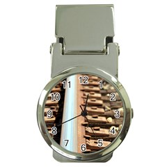 Train Track Money Clip With Watch by hlehnerer