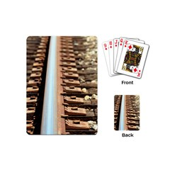 Train Track Playing Cards (mini)
