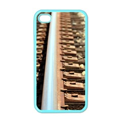 Train Track Apple Iphone 4 Case (color) by hlehnerer