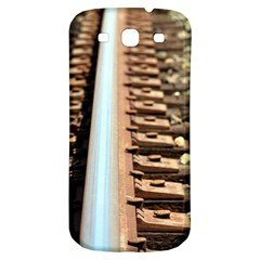 Train Track Samsung Galaxy S3 S Iii Classic Hardshell Back Case by hlehnerer