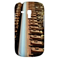 Train Track Samsung Galaxy S3 Mini I8190 Hardshell Case by hlehnerer