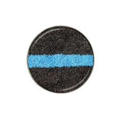 Black Blue Lawn Golf Ball Marker (for Hat Clip)