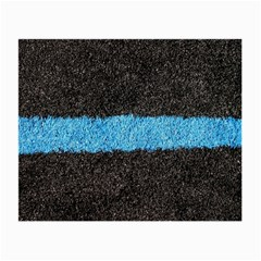 Black Blue Lawn Glasses Cloth (small) by hlehnerer