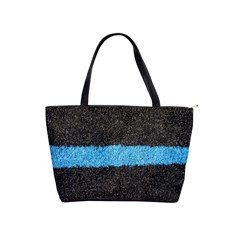 Black Blue Lawn Large Shoulder Bag by hlehnerer