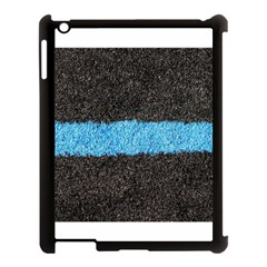 Black Blue Lawn Apple Ipad 3/4 Case (black) by hlehnerer
