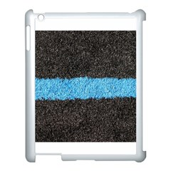 Black Blue Lawn Apple Ipad 3/4 Case (white) by hlehnerer