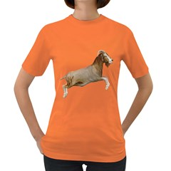 Goat 1 Womens' T Shirt (colored) by gatterwe