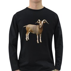 Goat 2 Mens' Long Sleeve T Shirt (dark Colored) by gatterwe