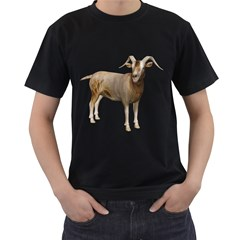 Goat 2 Mens' T Shirt (black) by gatterwe