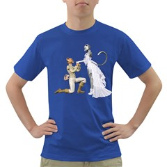 Wedding Couple 1 Mens' T Shirt (colored) by gatterwe