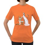 Wedding Couple 1 Womens' T-shirt (Colored) Front