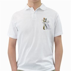 Wedding Couple 2 Mens  Polo Shirt (white)