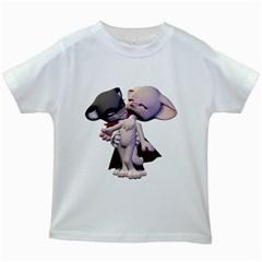 Vampire 1 Kids' T Shirt (white)
