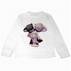 Vampire 1 Kids Long Sleeve T Shirt