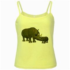 Rhino 1 Yellow Spaghetti Tank