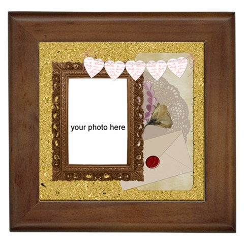 In Love Framed Tile By Zornitza   Framed Tile   2s63pwuamd9m   Www Artscow Com Front