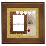 In Love framed tile