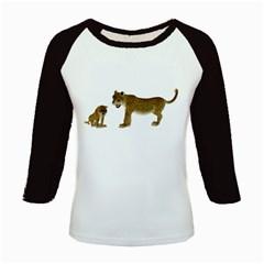 Leopard 4 Women s Long Cap Sleeve T-Shirt