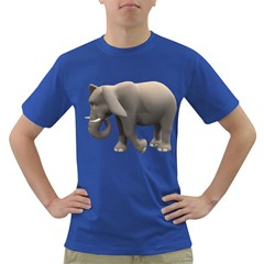 Elephant 2 Mens' T Shirt (colored) by gatterwe