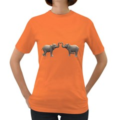 Elephant 4 Womens' T Shirt (colored)