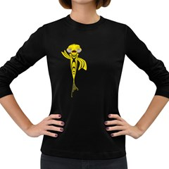 Fish 1 Womens' Long Sleeve T Shirt (dark Colored) by gatterwe
