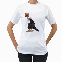 Vulture 1 Womens  T Shirt (white) by gatterwe